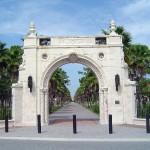 Clapp New College Entrance